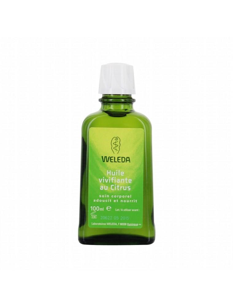 Huile vivifiante au Citrus - Adoucit et rafraîchit la peau 100 ml - Weleda