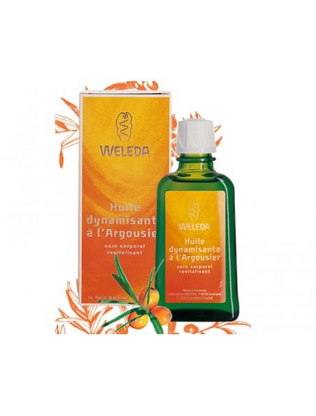 Huile dynamisante à l'Argousier - Revitalise et protège la peau 100 ml - Weleda