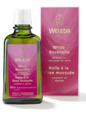Huile harmonisante à la Rose musquée - Embellit et apaise 100 ml - Weleda