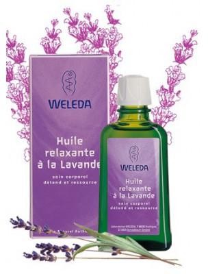 Huile relaxante à la Lavande - Détend et ressource 100 ml - Weleda