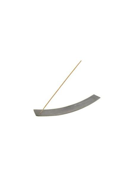 Porte-encens en pierre Kaya gris pour  bâtonnets d'encens - Les Encens du Monde