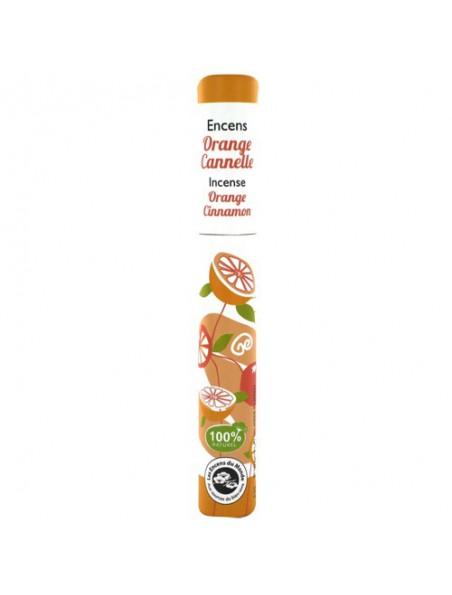 Orange Cannelle - Encens végétal 30 bâtonnets - Les Encens du Monde