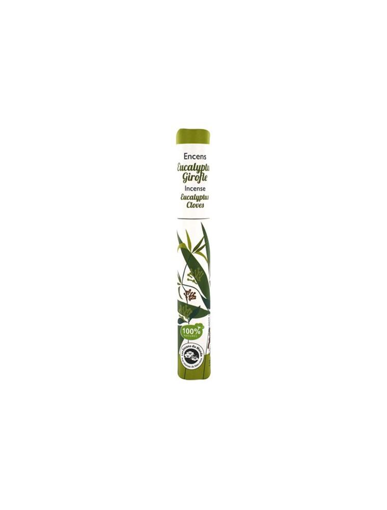 Eucalyptus Girofle - Encens végétal 30 bâtonnets - Les Encens du Monde