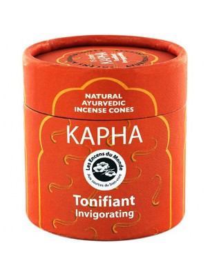 Kapha Tonifiant - Encens Ayurvédiques 15 cônes - Les Encens du Monde