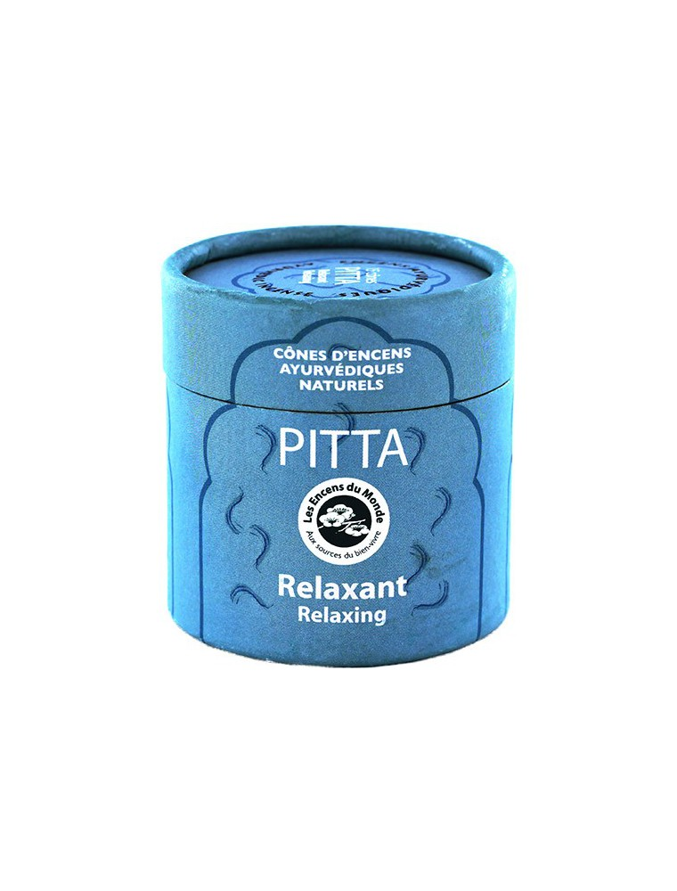 Pitta Relaxant - Encens Ayurvédiques 15 cônes - Les Encens du Monde