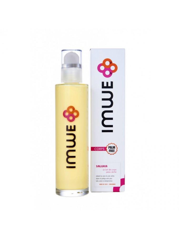 Saluka - Lait de corps pour peau sèche 200 ml - Imwe