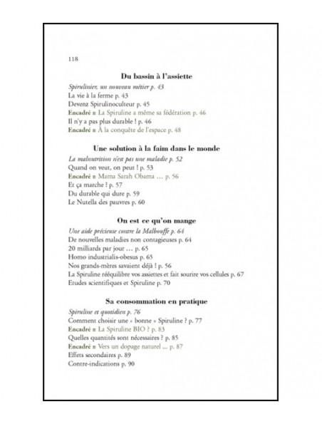 Avec de la Spiruline - Source d'éléments nutritifs 120 pages - Nicolas Ottart