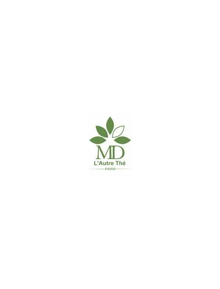 Thé des Mamans Bio - Thé vert à la fraise, à la framboise et à la rose 20 sachets pyramide - L'Autre thé