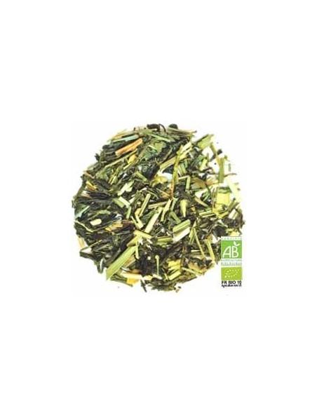Khing Lemon Bio - Thé vert citron, gingembre, citronnelle et citron boîte 100g - L'Autre thé