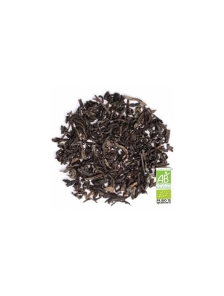 Cassis Bio - Thé noir, cassis et feuilles de noisetier boîte 100g - L'Autre thé