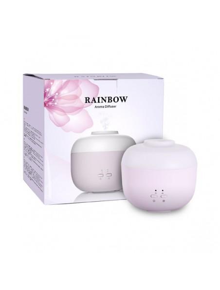 Diffuseur ultrasonique d'huiles essentielles - Rainbow Rose Poudré - Pranarôm