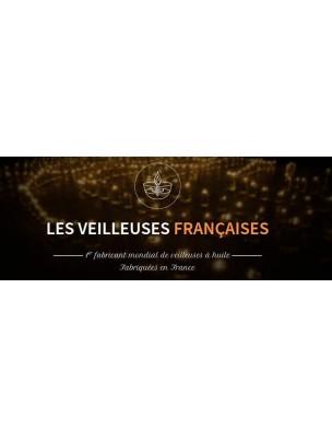 Bougies flottantes à la cire d'abeille - 30 mèches - Les Veilleuses Françaises®