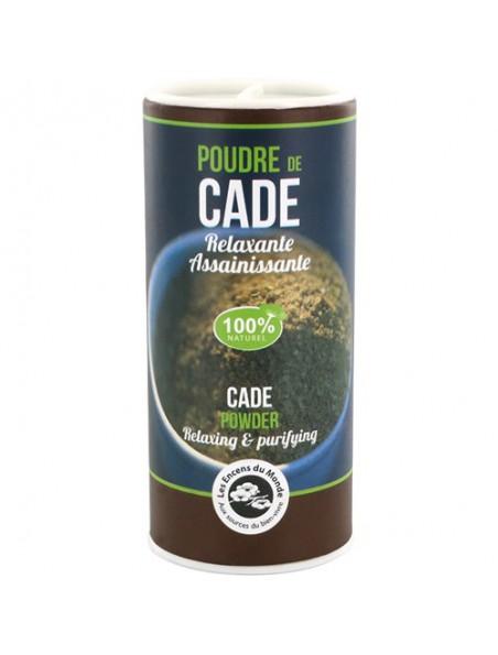 Poudre de Cade - Relaxante et assainissante 30 grammes - Les Encens du Monde