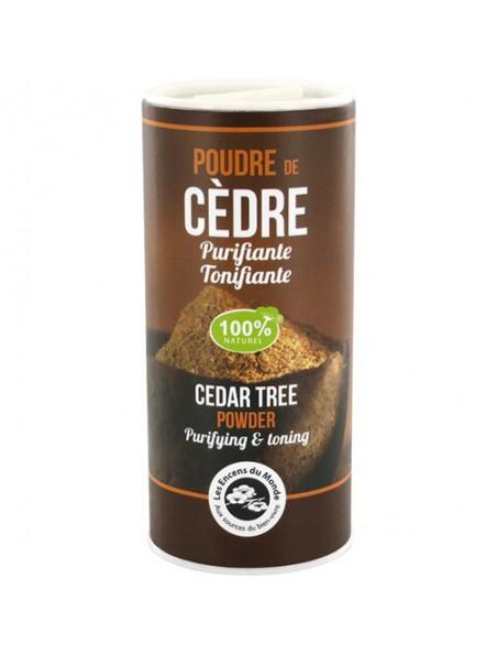 Poudre de Cèdre - Purifiante et reposante 30 grammes - Les Encens du Monde