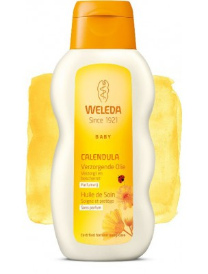 Huile de Soin pour Bébé au Calendula - Soigne et protège 200 ml - Weleda