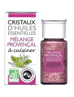 Mélange Provencal - Cristaux d'huiles essentielles - 10g