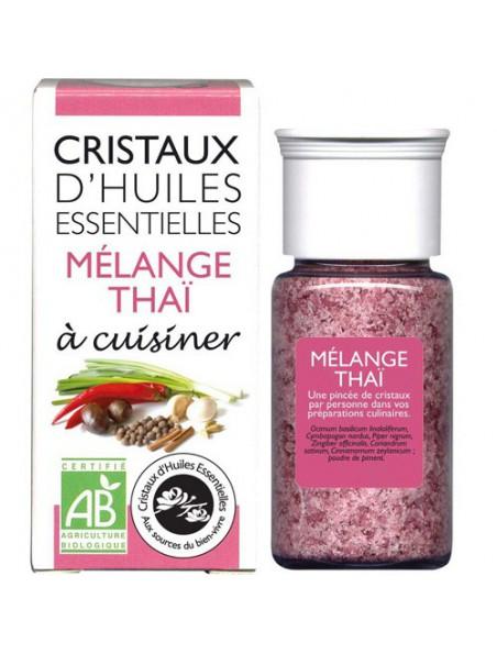 Mélange Thaï - Cristaux d'huiles essentielles - 18 grammes