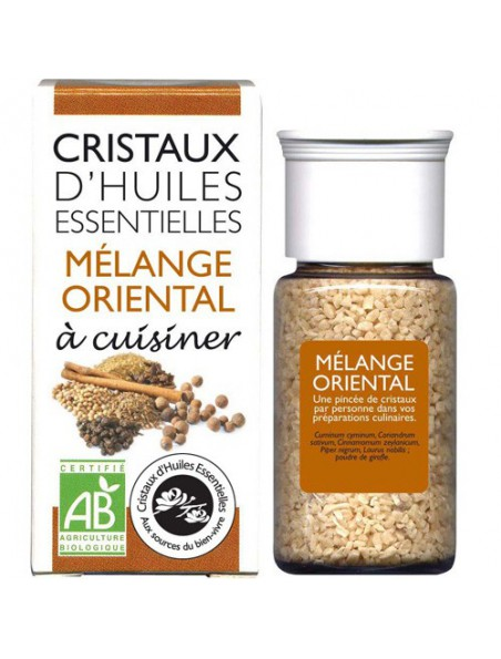 Mélange Oriental - Cristaux d'huiles essentielles - 18 grammes