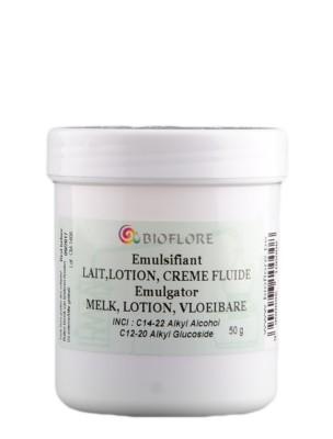 Emulsifiant pour lait, lotion et crème fluide - Reconnu par les labels Bio...