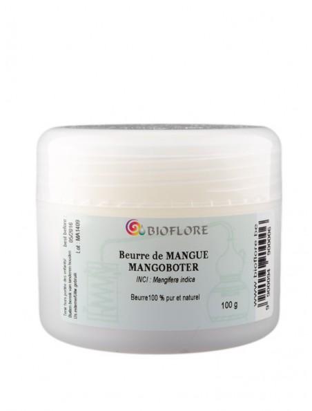 Beurre de mangue - Riche en acides gras essentiels 100g - Bioflore