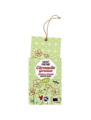 Sachet parfumé - Citronnelle Géranium Anti-moustiques - Les Encens du Monde