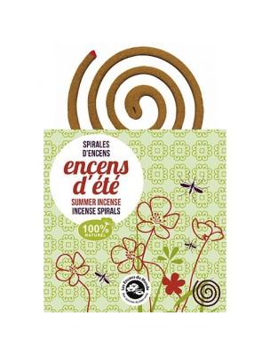 Spirale d'encens et son support - Anti-moustiques 10 spirales - Les Encens du...