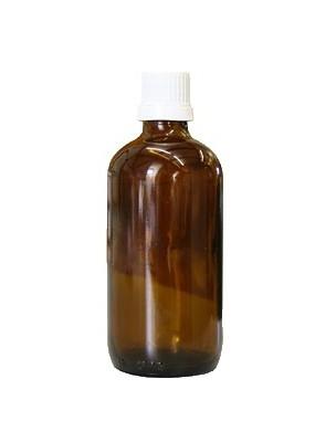 Flacon en verre brun de 100 ml avec compte-gouttes