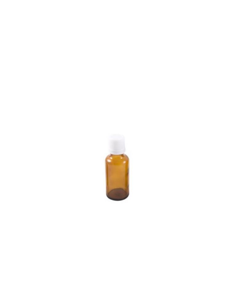 Flacon en verre brun de 30 ml avec compte-gouttes