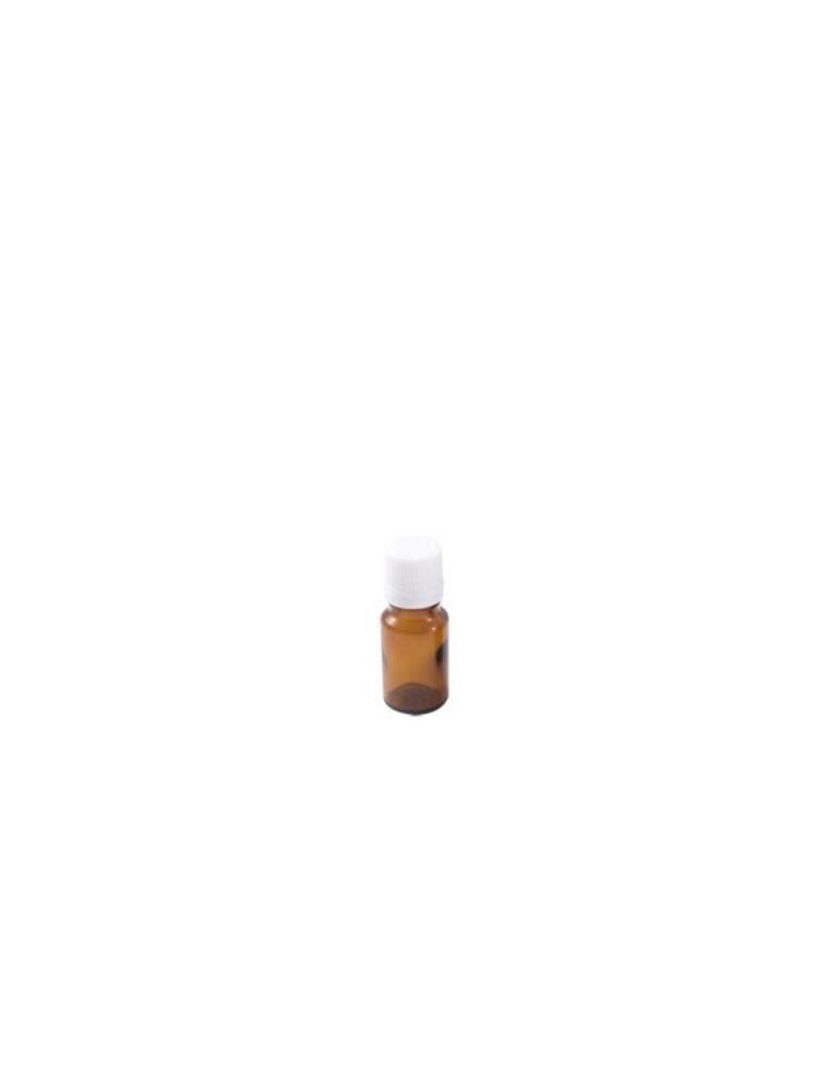 Flacon en verre brun de 15 ml avec compte-gouttes