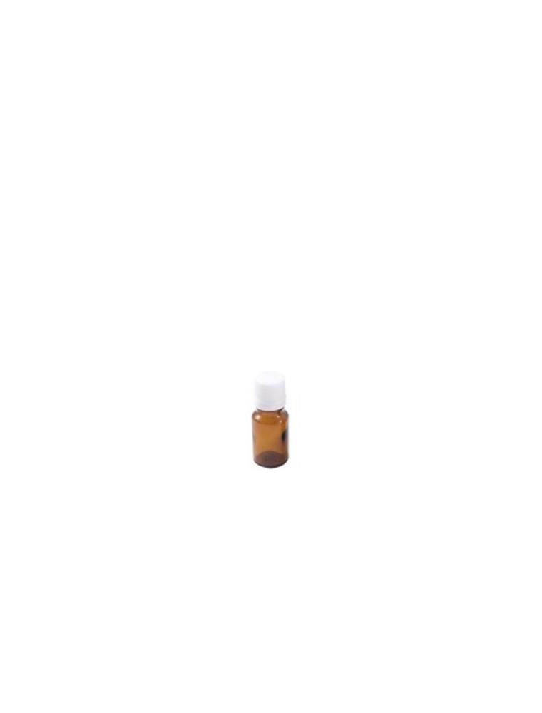 Flacon en verre brun de 5 ml avec compte-gouttes