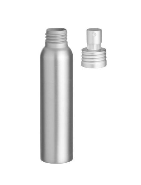 Flacon en aluminium avec spray de nébulisation de 100 ml