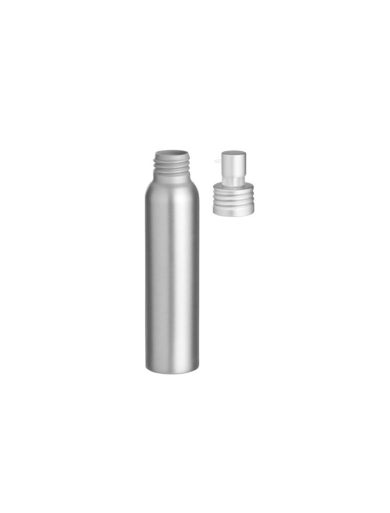 Flacon en aluminium avec pompe pour crème, gel, huile visqueuse de 250 ml