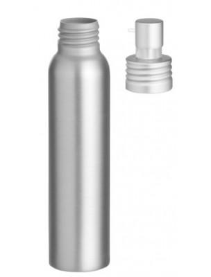 Flacon en aluminium avec pompe pour crème, gel, huile visqueuse de 100 ml