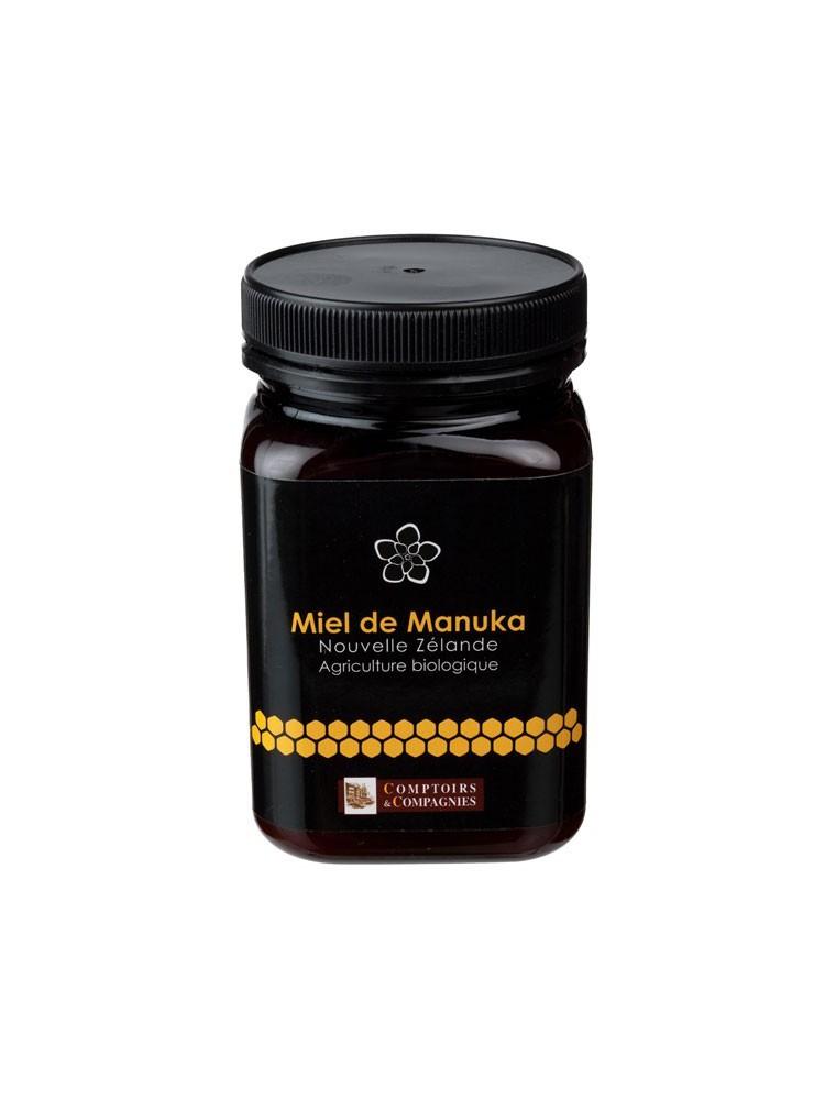 Miel de Manuka Biologique - Notes d'Eucalyptus 500g - Comptoirs et Compagnies