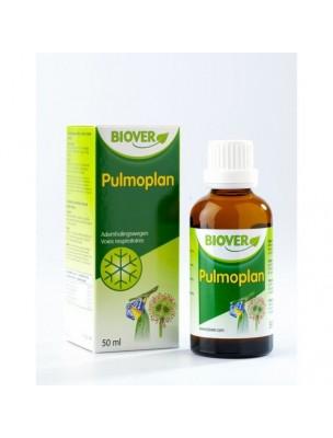 Pulmoplan - Gouttes de plantes pour les voies respiratoires 50 ml - Biover