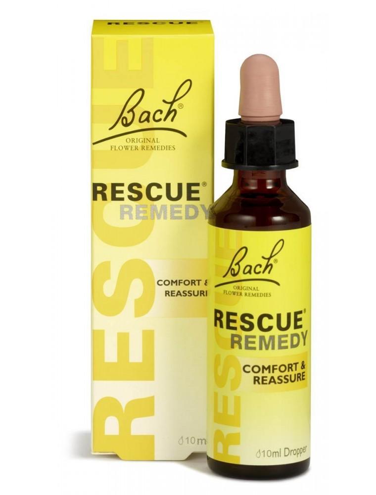 Rescue Remedy - Remède de secours du Docteur Bach en gouttes 10 ml - Fleurs de Bach Original