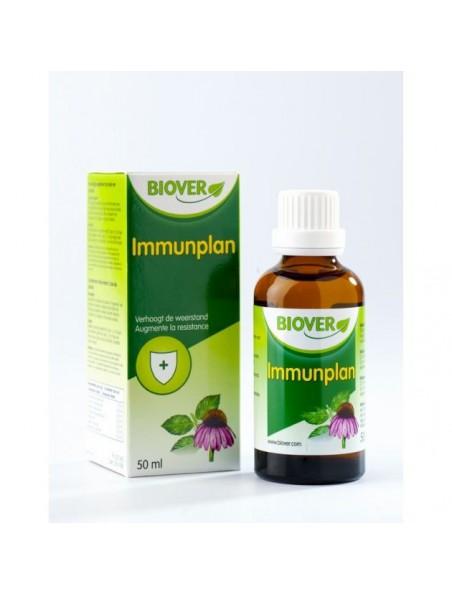 Immunplan - Gouttes de plantes soutenant la résistance 50 ml - Biover