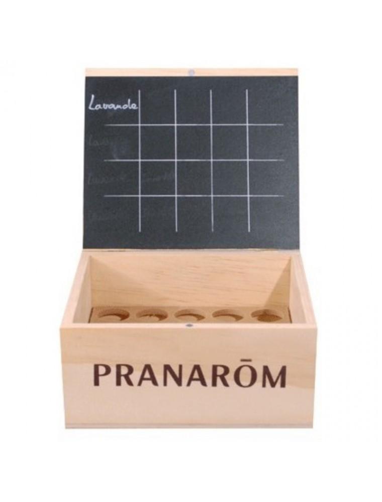 Aromathèque Pranarôm - valisette vide de 20 emplacements