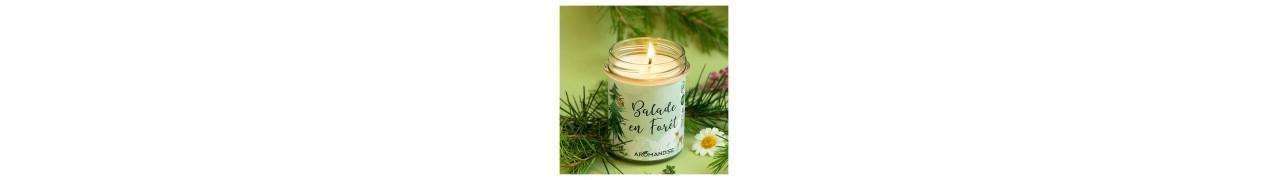 ▷ Bougies d'ambiances et corporelles naturelles