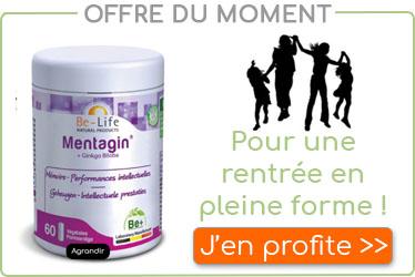D�couvrez nos solutions naturelles pour une rentr�e en pleine forme avec Mentagin, disponible � l'herboristerie Louis