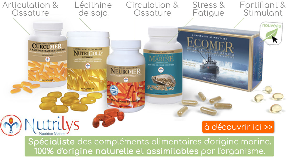 La gamme Nutrilys, disponible à l'herboristerie Louis