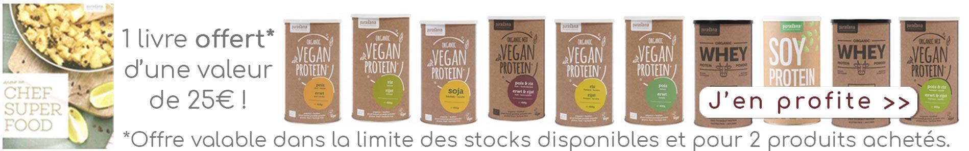 Protéines végétales vegan Purasana