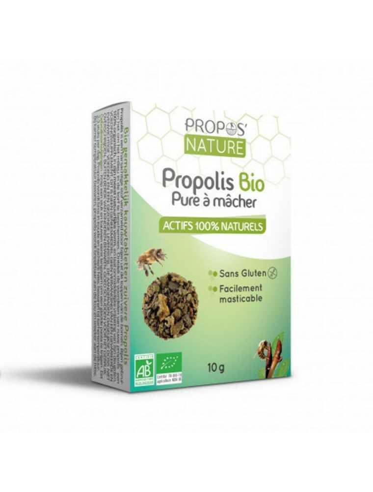 Gommes de propolis sur le site de Louis-herboristerie
